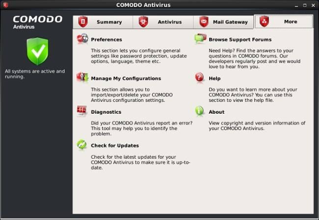 Comodo Antivirus - еще один бесплатный антивирус