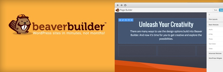 WordPress Page Builder - Beaver Builder - гибкий конструктор страниц