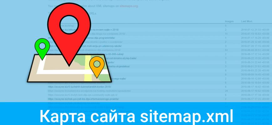 Как создать карту сайта sitemap.xml в WordPress