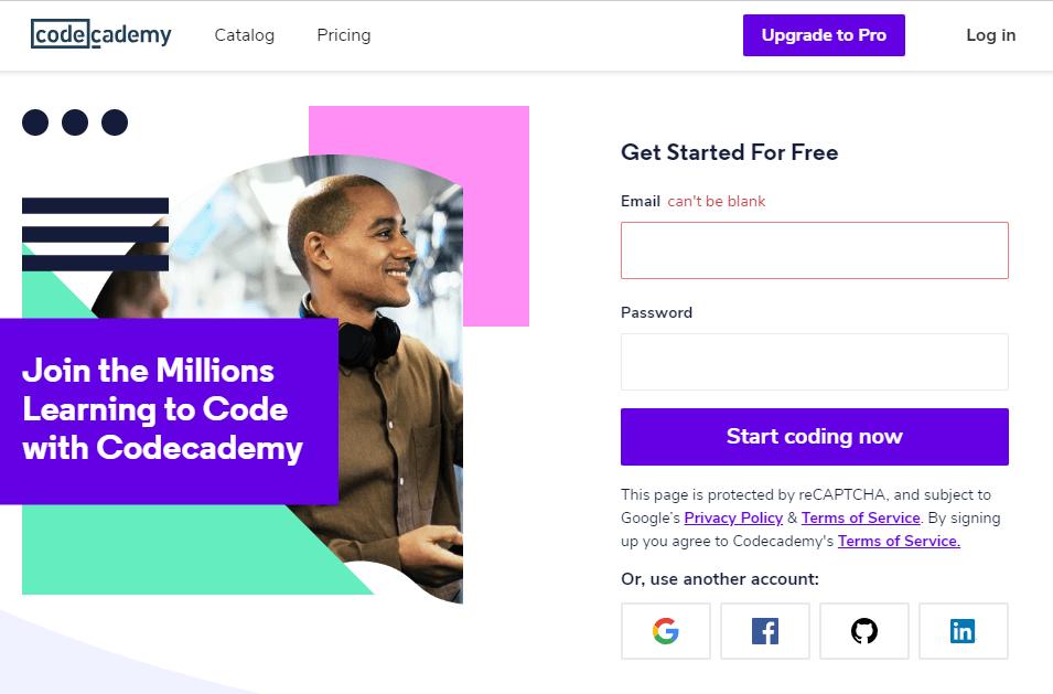 Codecademy - курсы программирования на английском