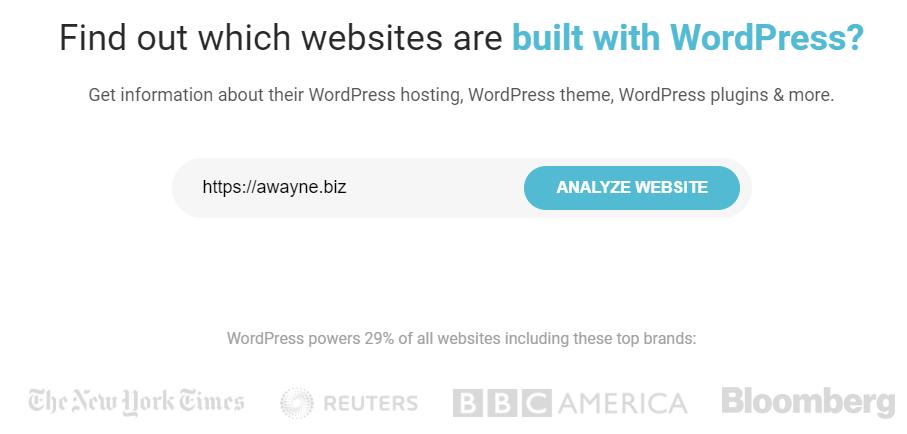 IsitWP - инструмент анализа WordPress