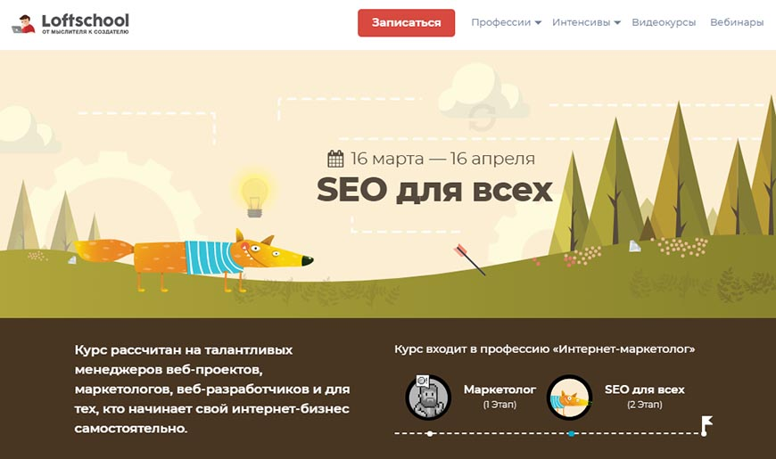 SEO для всех LoftSchool